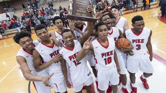 Pike won last year's Marion County tournament