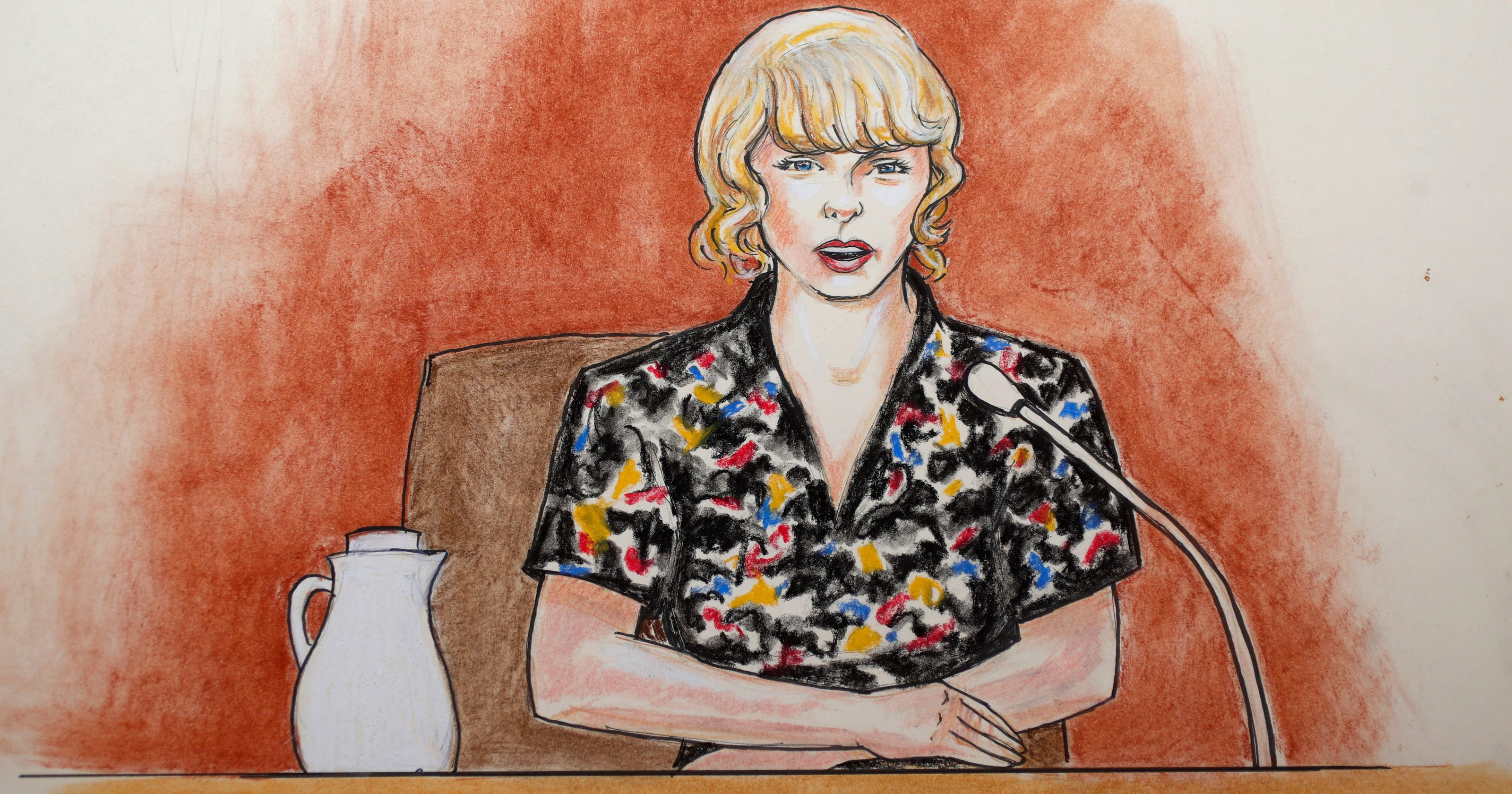 Taylor Swift groping trial: 'It was a very long grab'
