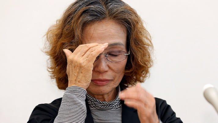 Junko Ishido, mother of Japanese hostage Kenji Goto