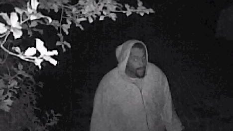 Police are looking for this man and an accomplice who they say burglarized a Monroe Township home.