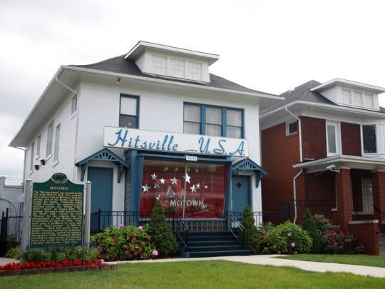 Motown Records' original headquarters at 2648 West Grand Blvd., Detroit, now the Motown Museum