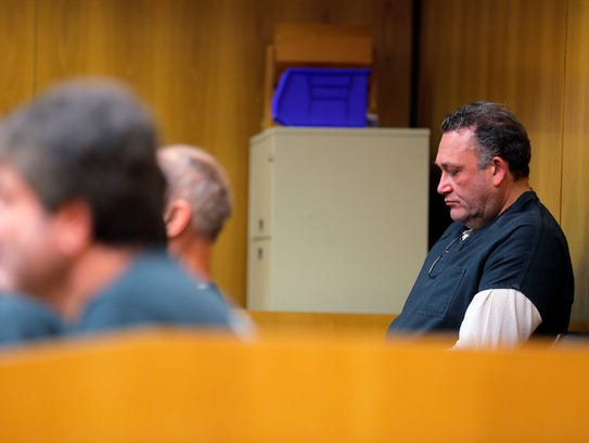 Carlo Amato appears for his detention hearing before