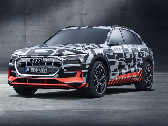 Audi's e-tron prototype will travel more than 400 kilometers (248 miles) on a single charge.
