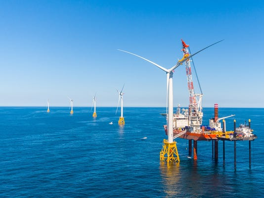 Offshore wind farm a green-energy milestone