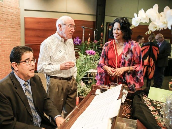 Richard Alegria, John Chesshir, Dr. Mary Jane Garza