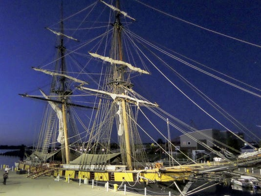 The U.S. Brig Niagara was the flagship of Commodore Oliver Hazard Perry in the Battle of Lake Erie.