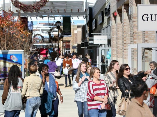 Tanger Outlet Mall opened two years ago as a major regional shopping destination in Southaven.
