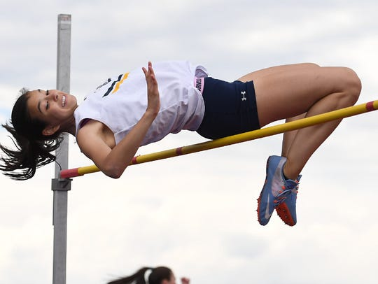 Ramsey's Kaela Monte earned a berth in the state Meet