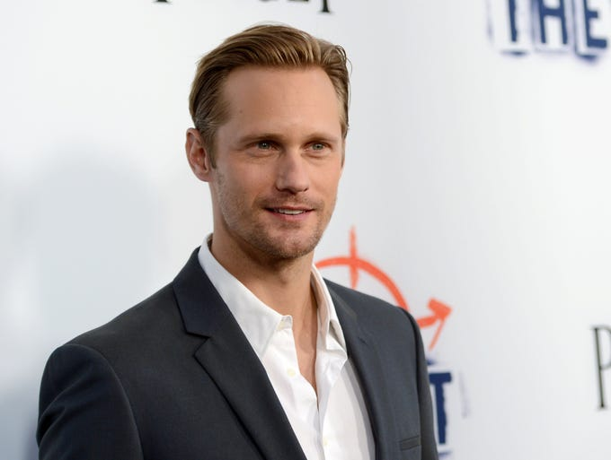 "Swedish actor Alexander Skarsgard, 37, best known for his role as vampire Eric Northman on the HBO series ""True Blood,"" is the son of celebrated actor Stellan Skarsgard (of ""Thor"" fame)."