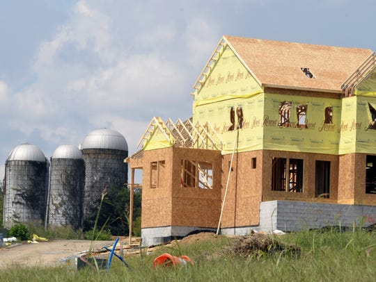 Regent Homes is building new homes at Carothers Farms,