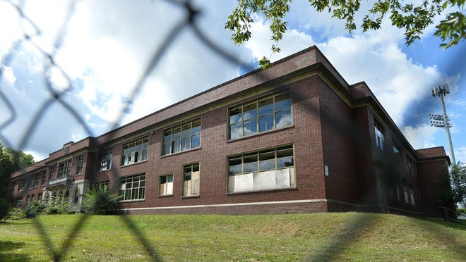 The former Roosevelt Middle School is scheduled for demolition beginning Monday with site prep work. The tear-down of the building is scheduled to begin Sept. 28.