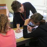 Licking Heights Central Middle School social studies teacher Carla Smith received a scholarship to attend the Colonial Williamsburg Teacher Institute, and she is using that experience to create a more immersive learning environment for her students.