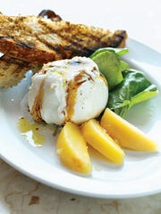 The Maple Brook Farms Burrata Cheese came with a twist: