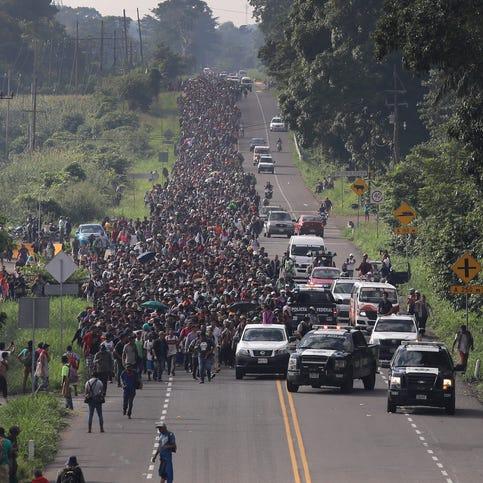 Lo que debe saber sobre la creciente caravana de migrantes hacia EEUU