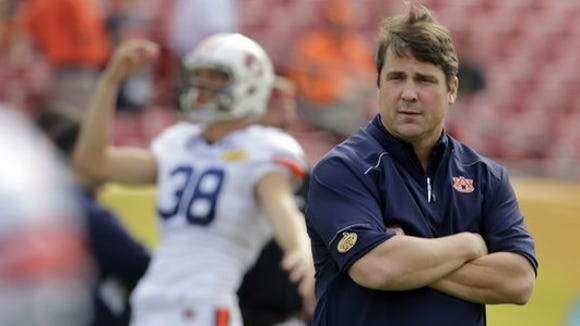 Auburn believes Will Muschamp will be the difference