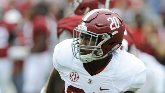 Montgomery native Shaun Hamilton was ejected from last week's win at Texas A&M for targeting.