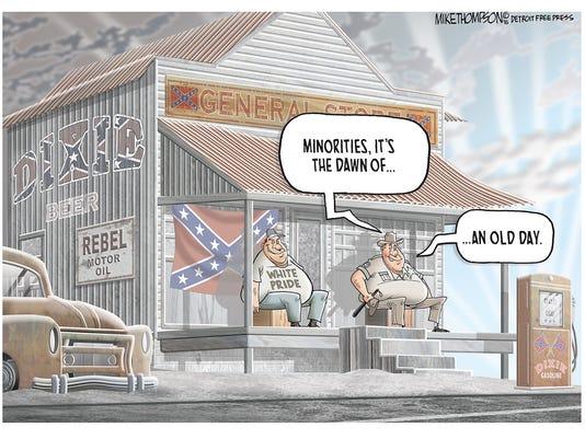 Minorities under President Trump