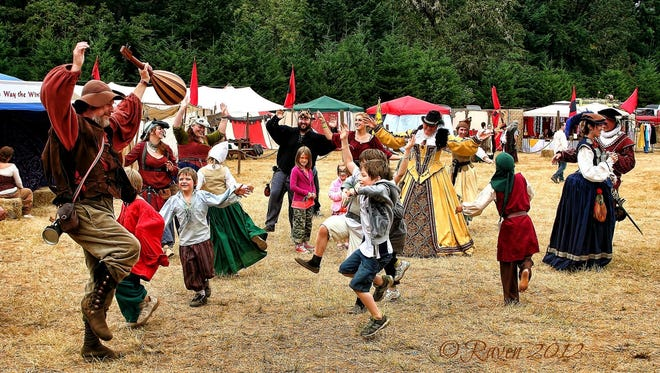 The Shrewsbury Renaissance Faire takes place 10 a.m. to 6 p.m. Saturday, Sept. 12, and Sunday, Sept. 13, in Kings Valley.