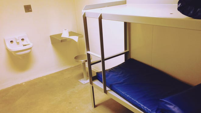 A cell in the Polk County Jail