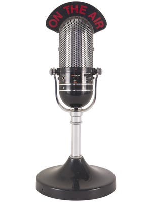 Radio microphone.