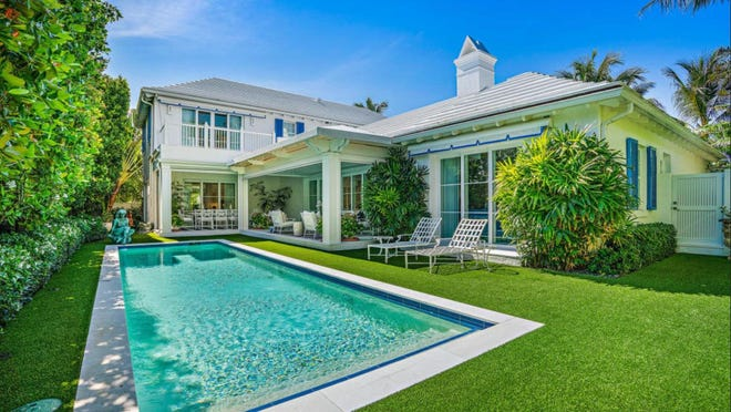 Completed in 2015, a three-bedroom house at 127 Reef Road on Palm Beach's North End has changed hands for a recorded $5.86 million.