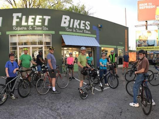 Green Fleet Bicycle Shop offers guided bike tours.