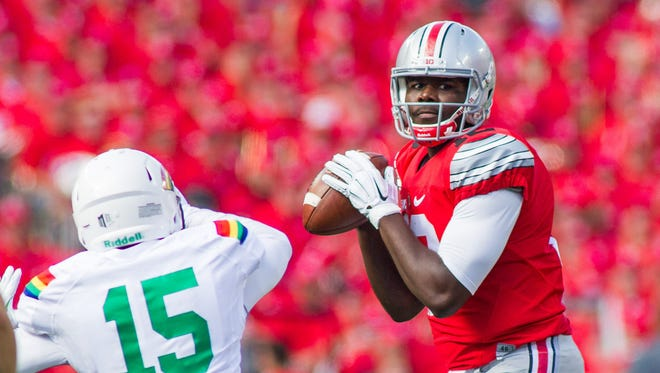 Could Ohio State Buckeyes quarterback Cardale Jones end up on the Cardinals?