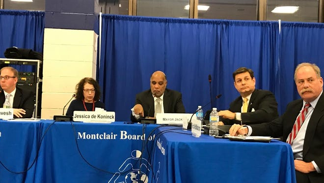 The Montclair Board of School Estimate convenes this past Thursday, March 16, to discuss the Montclair School District budget.