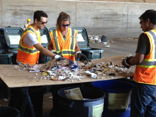 Phoenix trash sorting project