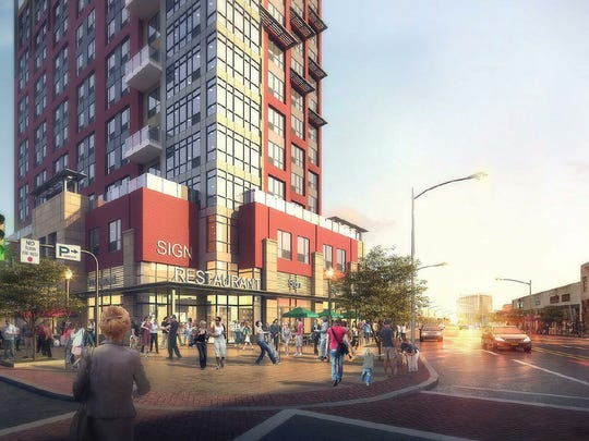 The Broadstone White Plains project calls for 434 apartments