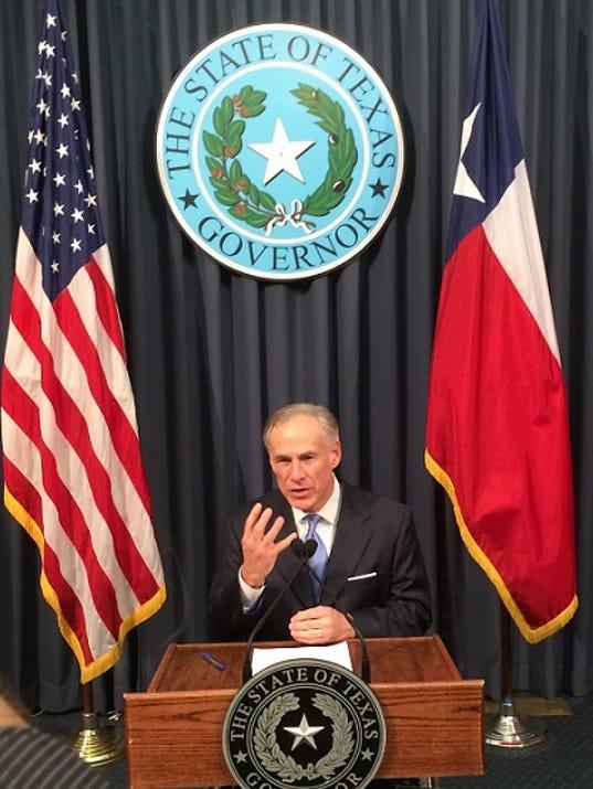 Governor Greg Abbott