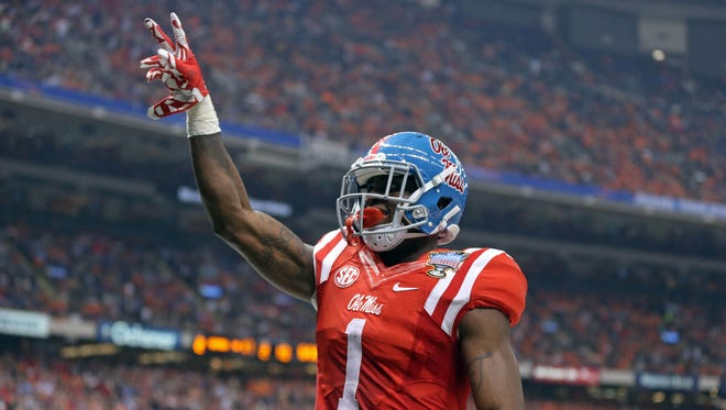 Ole Miss wide receiver Laquon Treadwell has declared for the NFL Draft.