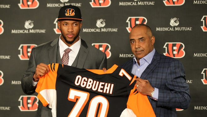 The path for 2017 started in April of 2015 when the Bengals spent a first-round draft pick on Cedric Ogbuehi.