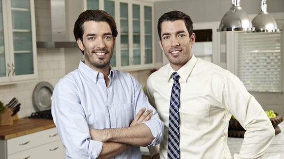 """HGTV's """"Property Brothers"""" Jonathan (left) and Drew Scott spent the spring and early summer renovating homes in Westchester and Rockland for both """"Buying & Selling,"""" and """"Property Brothers."""" The season premiere of """"Buying & Selling"""" is July 1 so local fans should be on the lookout for homes in their neighborhood."""