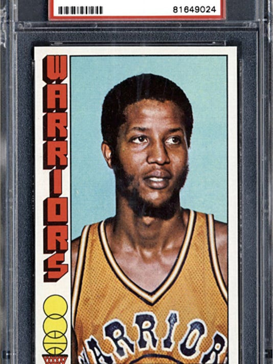 Courtesy Photo   Jamaal Wilkes' trading card during his career with the Golden State Warriors.