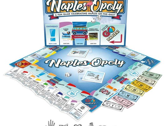 Naples-Opoly will be available only at these Naples-area