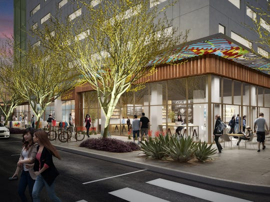 Shown here in an artist's rendering, the Link Phx will