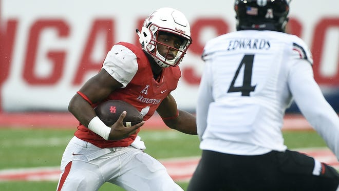 Jeff pick's Houston to knock off AAC foe Memphis when the team's face off Saturday.