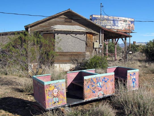 Santa's Ghost Town was once a bustling attraction.