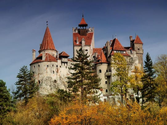 Dracula 39 S Castle Among Top Haunted Homes For Sale
