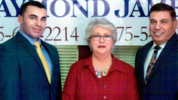 Nathan Enriquez, left, Linda Clay and Jimmy Enriquez have opened Enriquez Wealth Management in Deming,