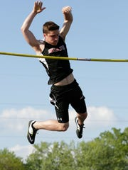 Sheboygan South's Brock Kovacic leads the state in pole vault by half a foot, with a state title on his mind before competing at Wisconsin next year.
