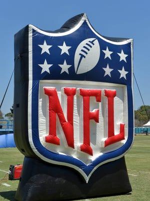 NFL shield logo.