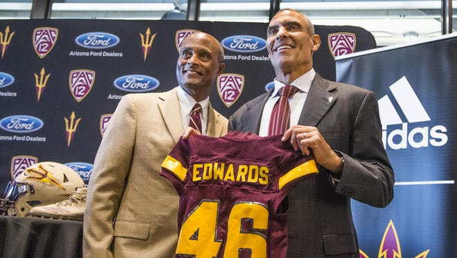 Michigan State's game at Arizona State on Sept. 8, led by first-year coach Herm Edwards, will begin at 10:45 p.m. at Sun Devil Stadium.