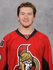 Ottawa Senators forward Max McCormick