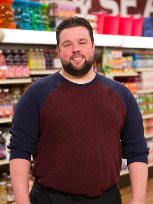 Chef Robbie Jester, as seen on Food Network's Guy's Grocery Games, Season 6