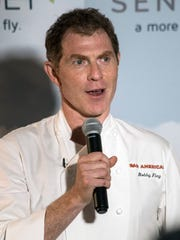 Chef Bobby Flay provided his Derby picks to guests