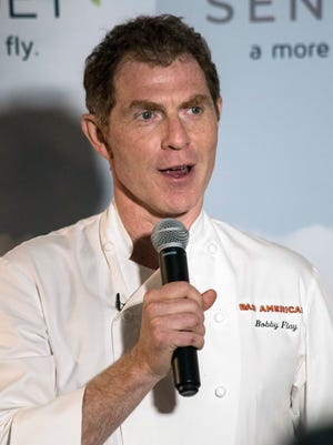 Chef Bobby Flay provided his Derby picks to guests during a special Derby morning breakfast at 21c Museum Hotel. May 6, 2017