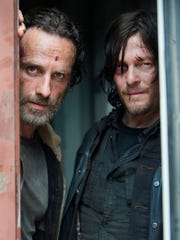 Gene Page,  AMC Andrew Lincoln, Norman Reedus and Dead return for a fifth go-round. Andrew Lincoln as Rick Grimes and Norman Reedus as Daryl Dixon - The Walking Dead _ Season 5, Episode 1 - Photo Credit: Gene Page/AMC [Via MerlinFTP Drop]
