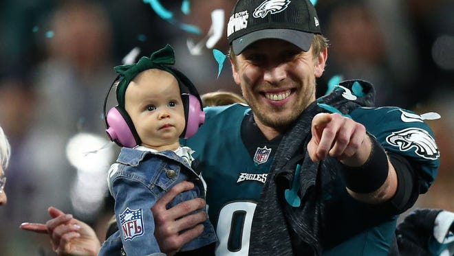 What advice would Philadelphia Eagles quarterback Nick Foles give to his daughter Lily? Here are some suggestions from John Moriello: Be prepared, Be Versatile and Explore All Your Options.